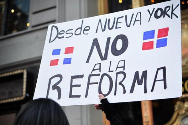 No Ala Reforma Protest - Erika Morilla