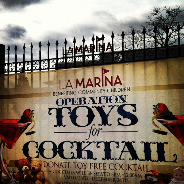 Operation Toys for Cocktails At La Marina