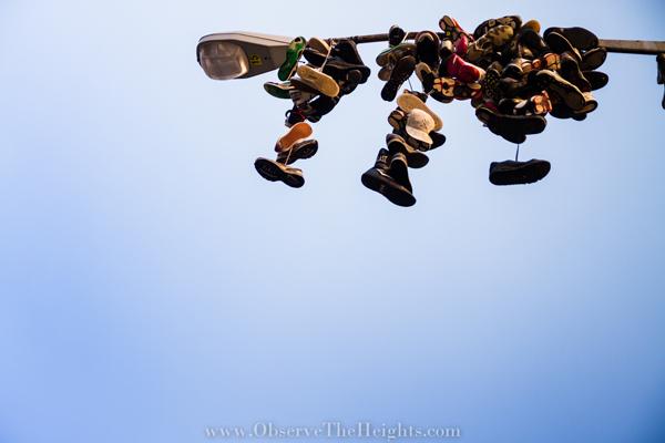 Sneakers on Pole - Washington Heights