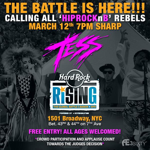 Tess Hard Rock Battle
