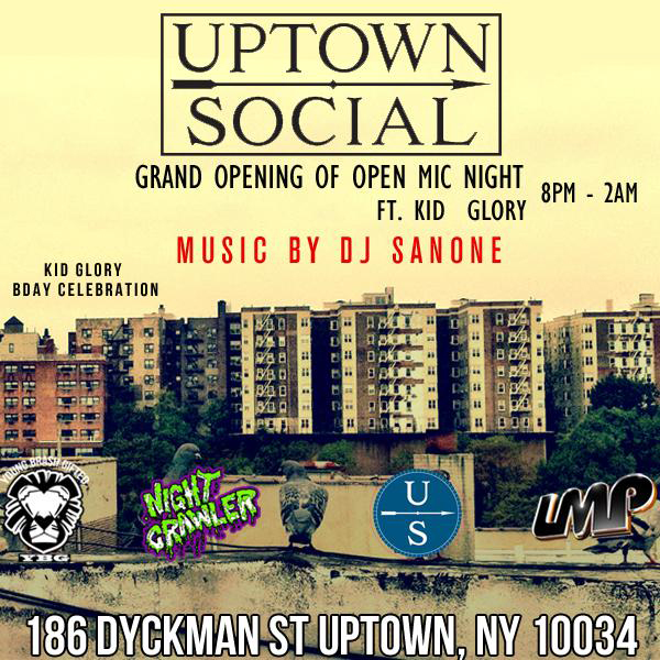 GLORY at Uptown Social
