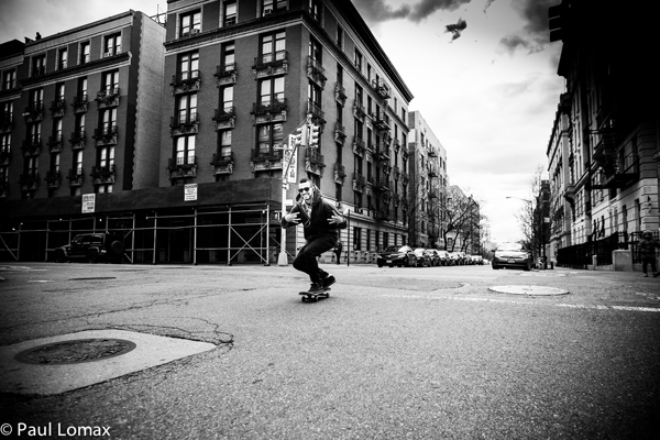 Kid Skating - Washington Heights