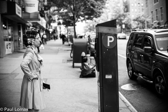 Women in Rollers - Washington Heights