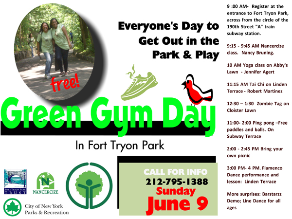Green Gym Day @ Fort Tryon Park