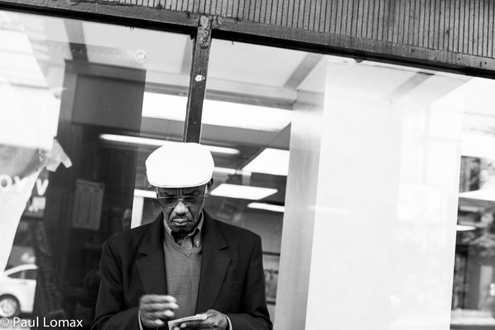Old Man In Washington Heights