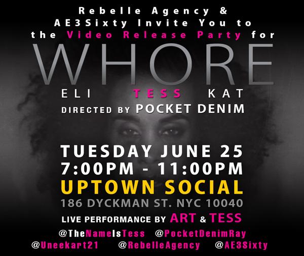 Tess - WHORE - Uptown Social