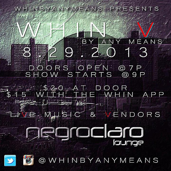 WHIN By Any Means - WHIN V