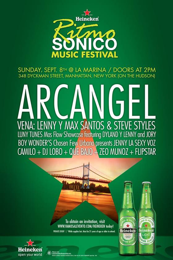 Heineken's Ritmo Sonico Music Festival @ La Marina