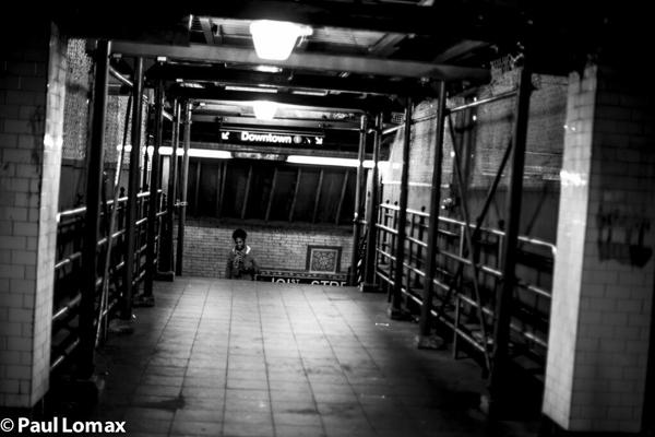 Washington Heights - A Train Station - Paul Lomax