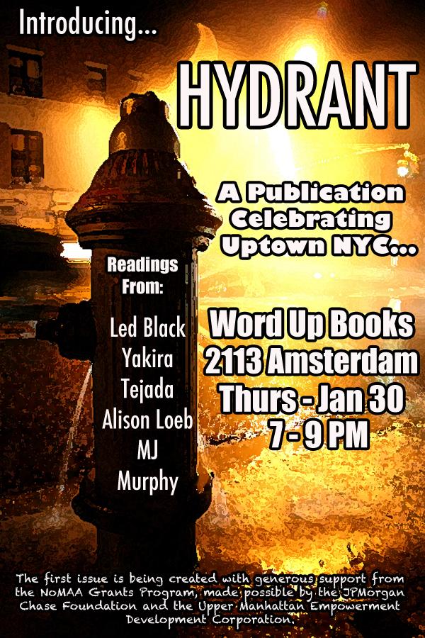 Hydrant Word Up Books - Washington Heights