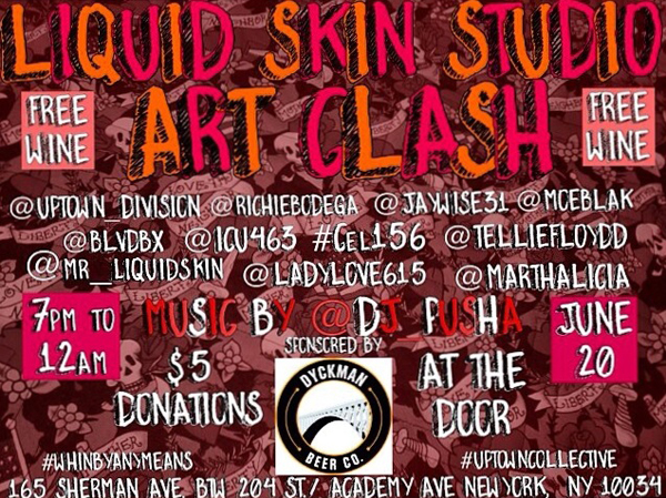 Liquid Skin Studio Art Clash