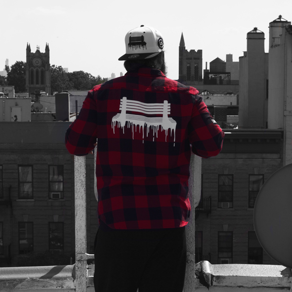 Freedom City Fall Collection - Red Button Down