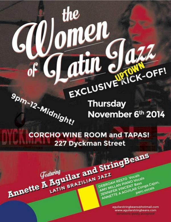 The Women of Latin Jazz @ Corcho