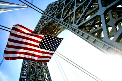 4thofjuly - American Flag - Bridge