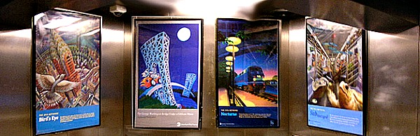 Artists Unite - Subway Poster Project