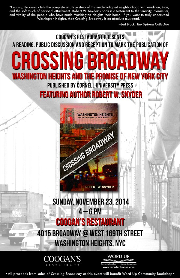 Crossing Broadway @ Coogan's