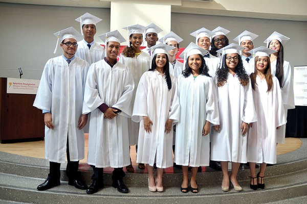 The 2015 Lang Youth Medical Scholars.