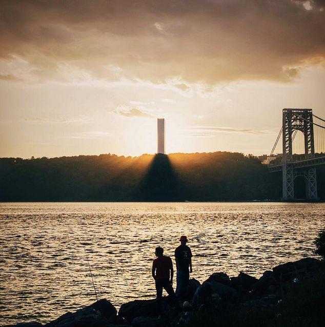 Sunset - George Washington Bridge - Washington Heights