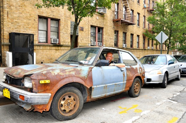 Honda Civic Old Bluey