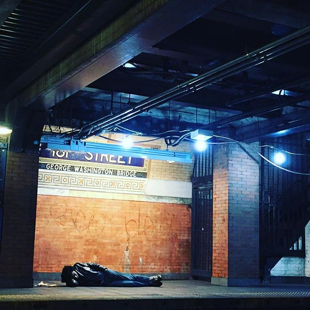 Homeless Man 181 St Street - Washington Heights