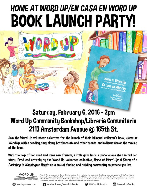 Word Up Book Launch