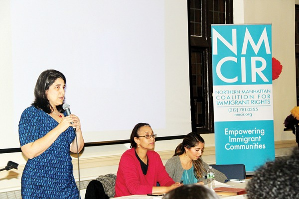 """""""It is important that we stay connected with each other,"""" said Angela Fernández, NMCIR Executive Director (far left)."""