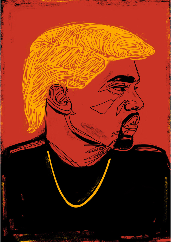 Donald West by Sashalynillo