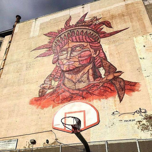 Indigenous Lady Liberty