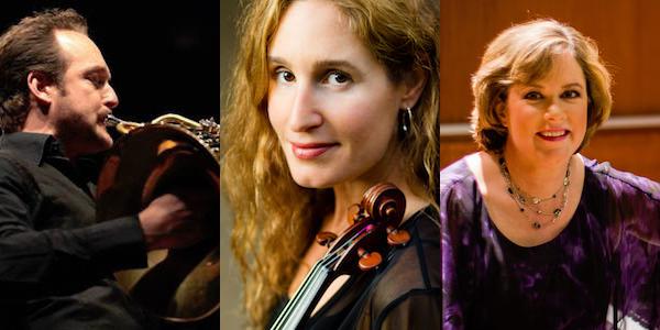 Sat, Oct 26, 8:00 pm: Abel Pereira, horn; Nurit Bar-Josef, violin; Audrey Andrist, piano