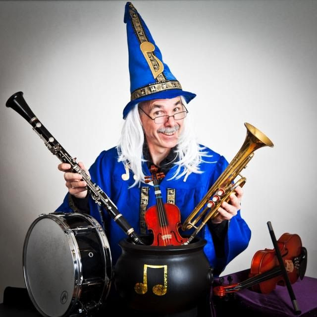Sat, Jun 6, 11 am: Magic of Music with Musico the Magnificent