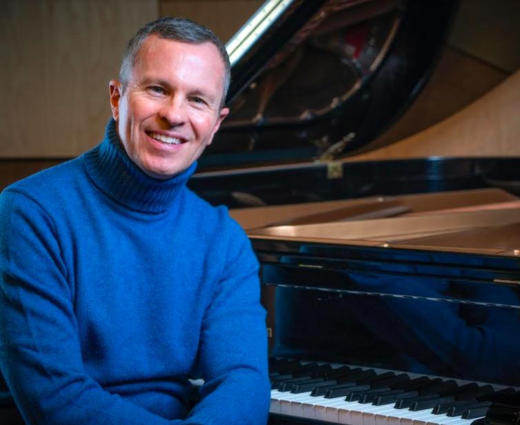Pianist Michael Adcock