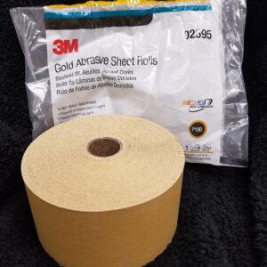 3M Stikit Gold Abrasive Sheet Rolls – P180
