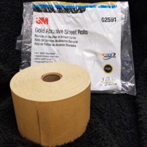 3M Skikit Gold Abrasive Sheet Rolls – P320