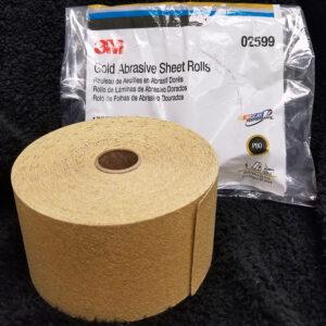 3M Skitit Gold Abrasive Sheet Rolls – P80