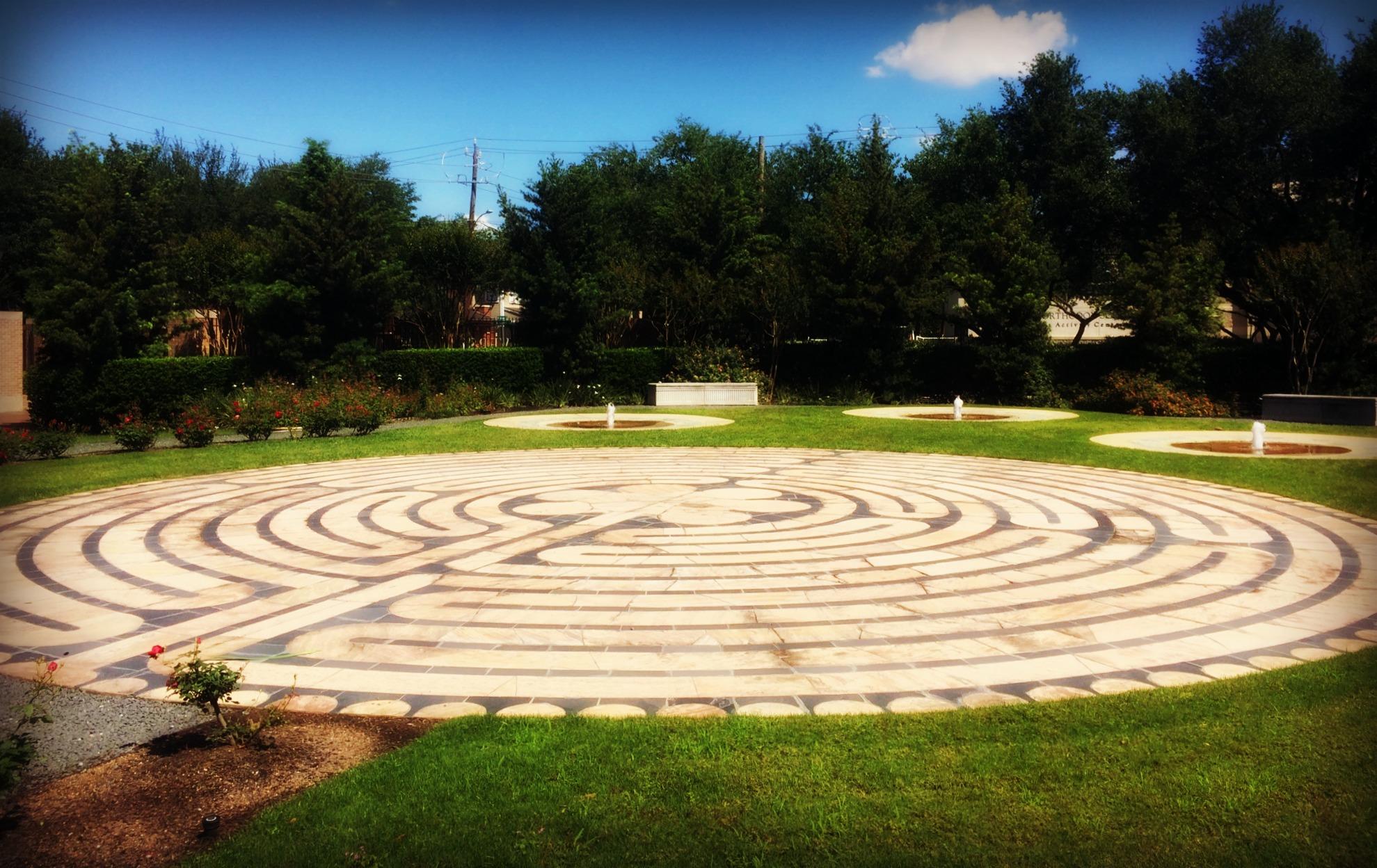 St. thomas labyrinth