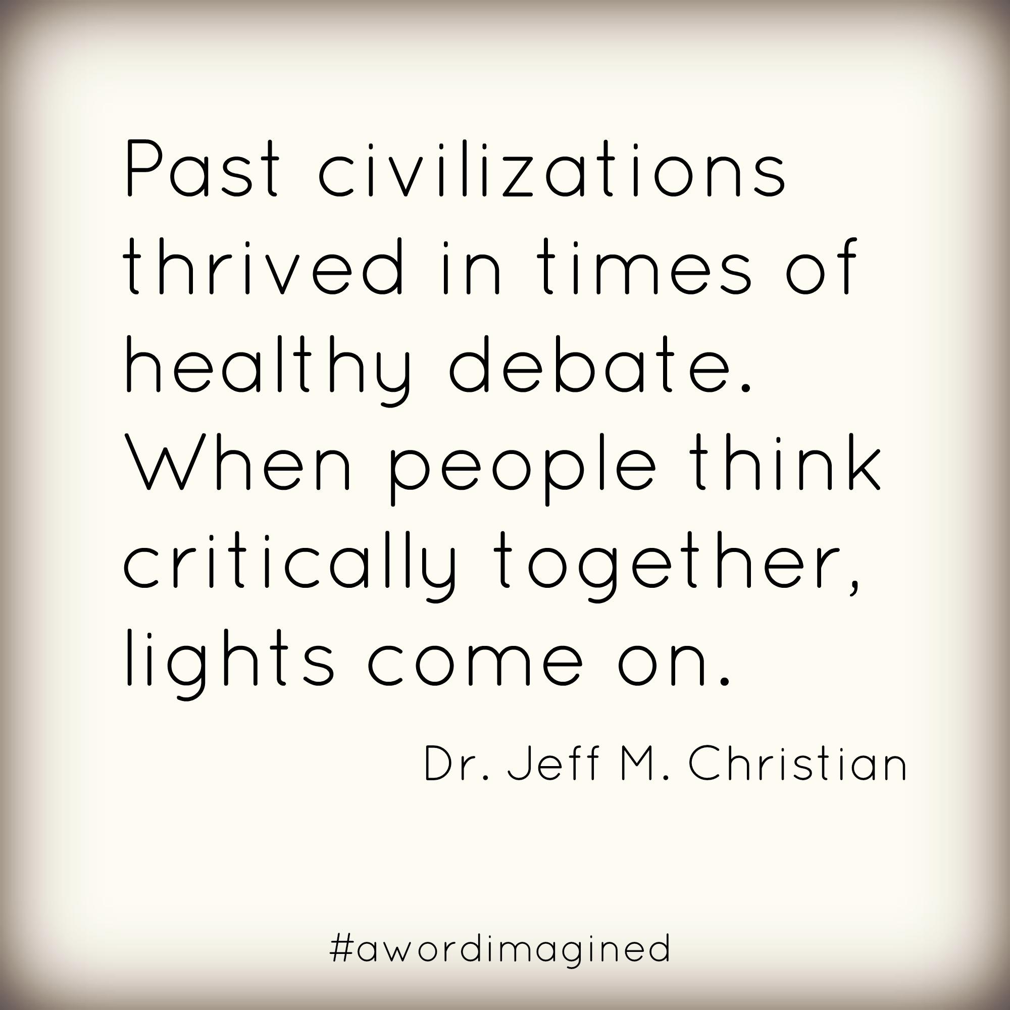 Healthy Debate