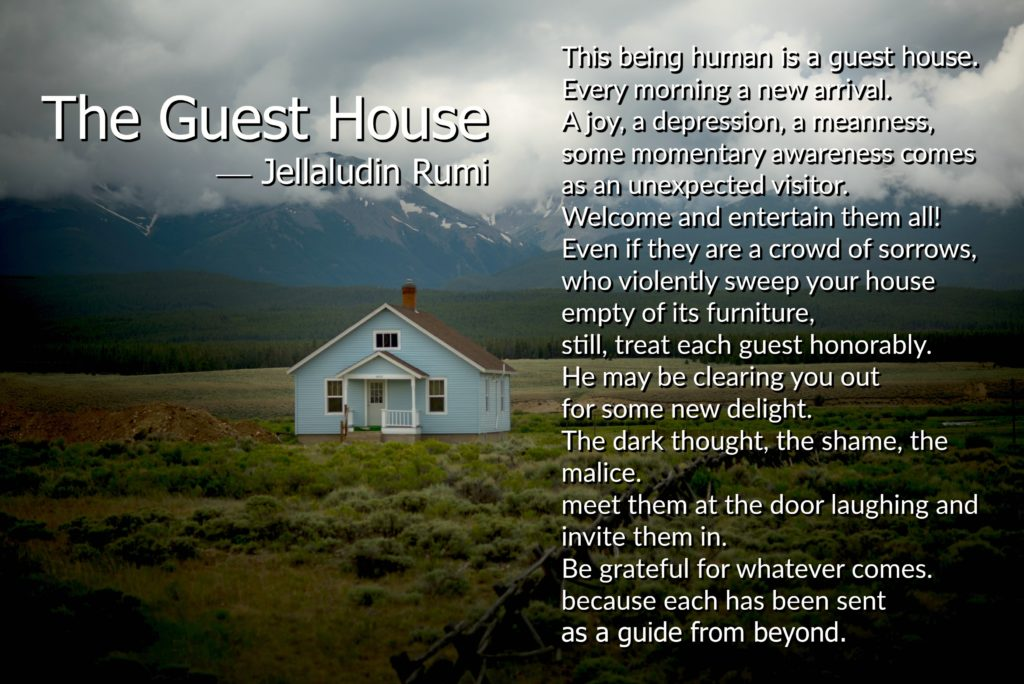 Rumi The Guest House
