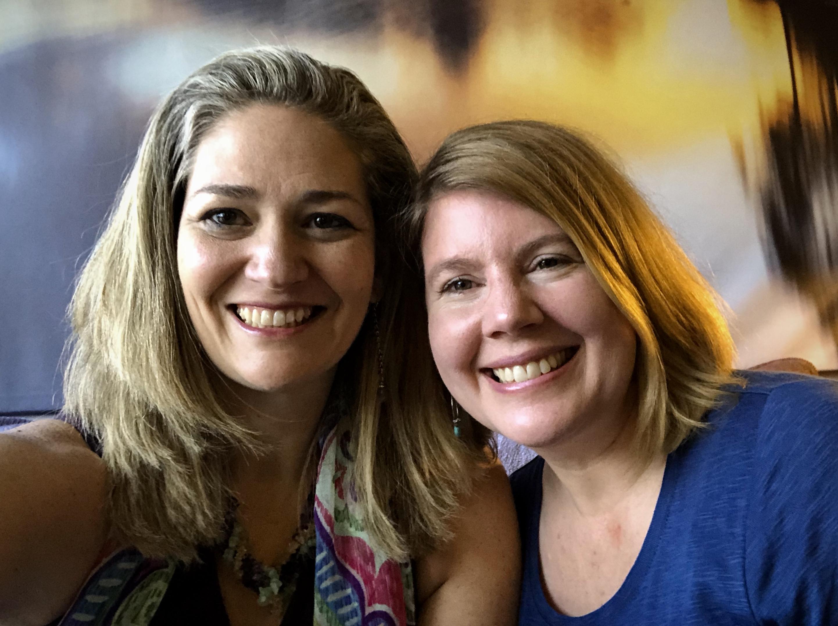 Amy Fuller and Jennifer Christian
