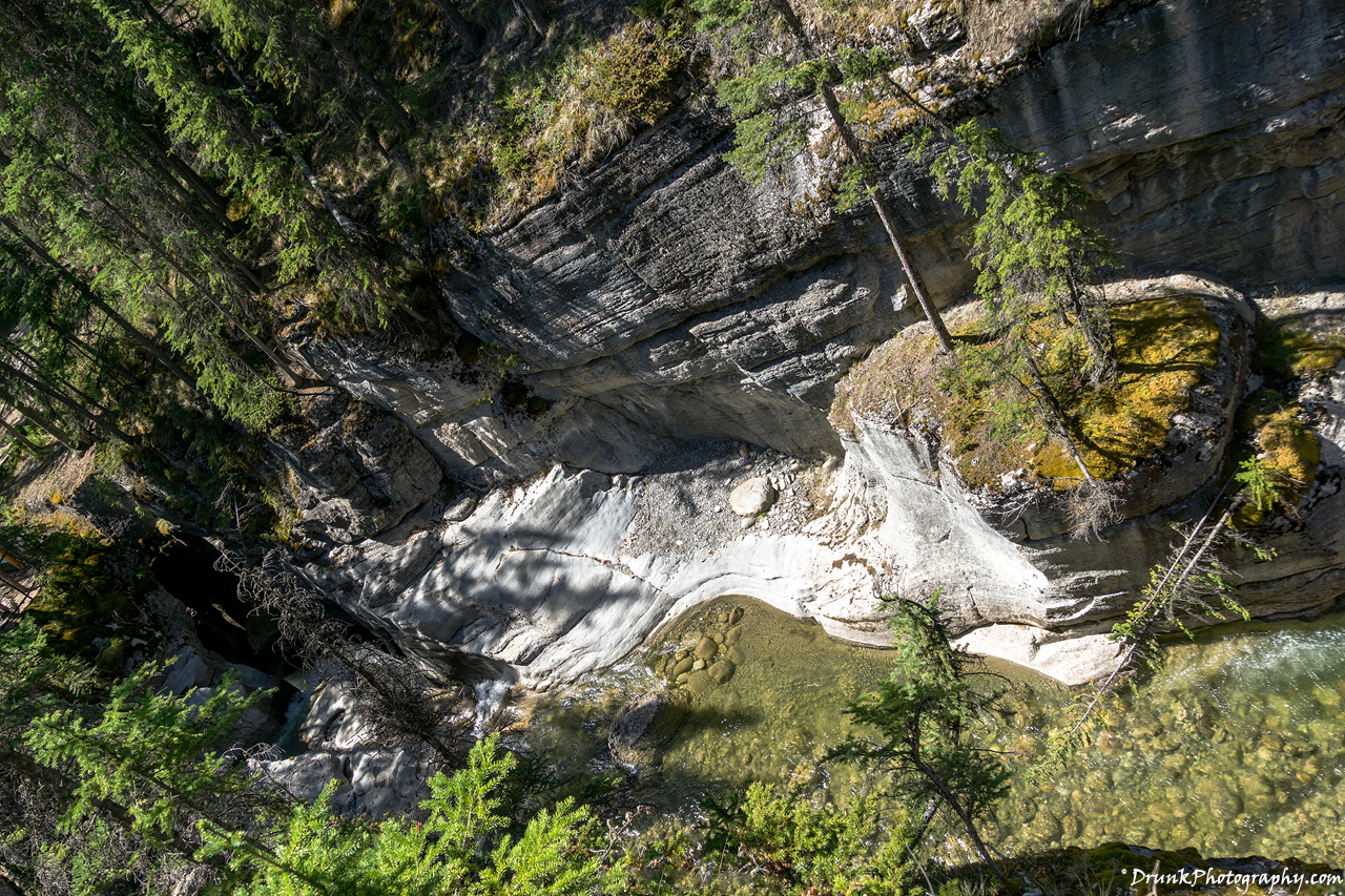 Maligne Canyon Trailhead Drunkphotography.com