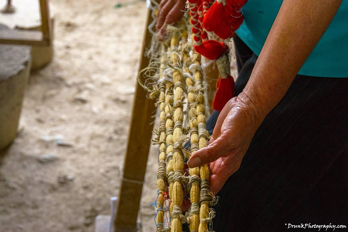 La Casa de La Makana Ikat weaving Drunkphotography.com