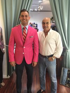 Pink Custom Suit