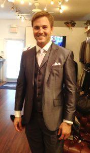 Gray Custom Suit
