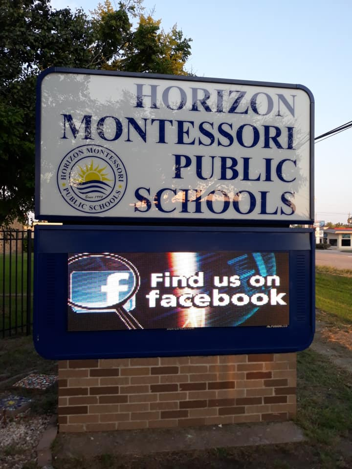 Horizon Montessori Public Schools 10mm LED Display