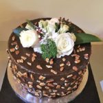 Groom Cake with Chocolate and Pecans