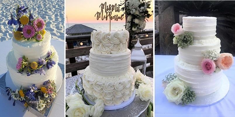 Custom Wedding Cakes 4 from scratch