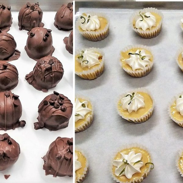 Chocolate Truffles and Key Lime Tarts