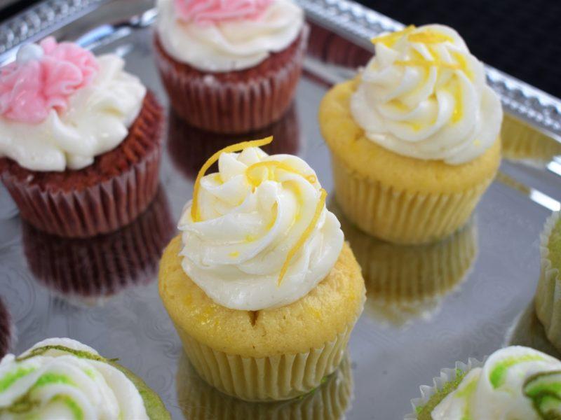 Lemon and Strawberry Cupcakes