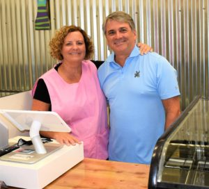 Sweet Henrietta's Owners Pete and Debbie Pearson