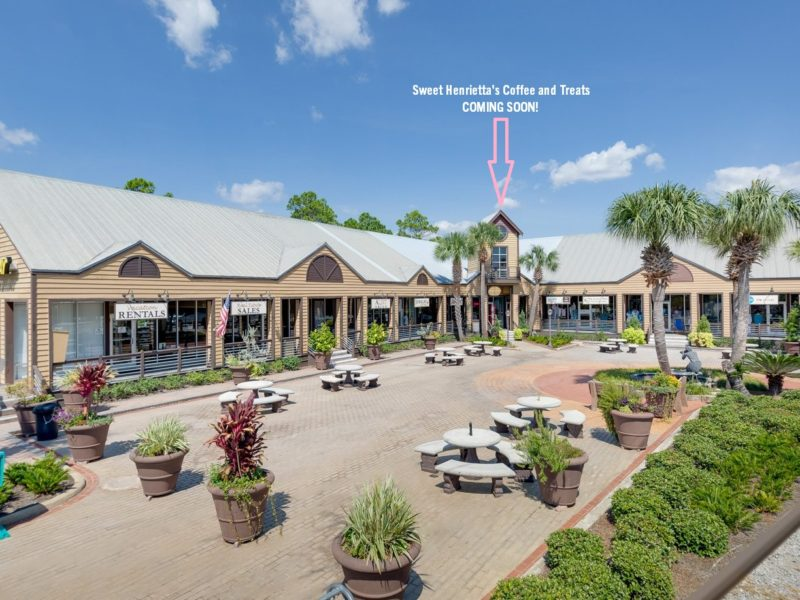 Seagrove Plaza Sweet Henrietta's Coffee and Treats location