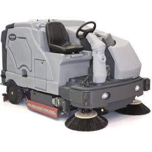 Advance SC8000 Diesel LP Powered Rider Sweeper Scrubber Industrial